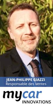 Jean-Philippe Giazzi, Responsable des ventes de MyCar Innovations